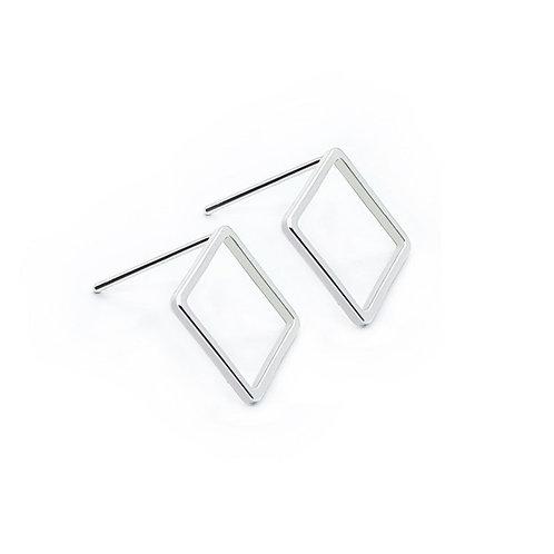 "Серьги ""Square""/Квадрат/Silver24"