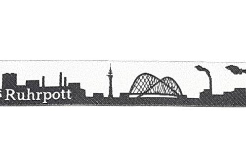 Skyline-Schlüsselanhänger Ruhrpott