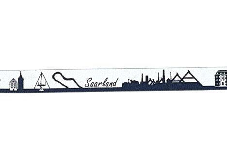 Skyline-Zugstopphalsband Saarland