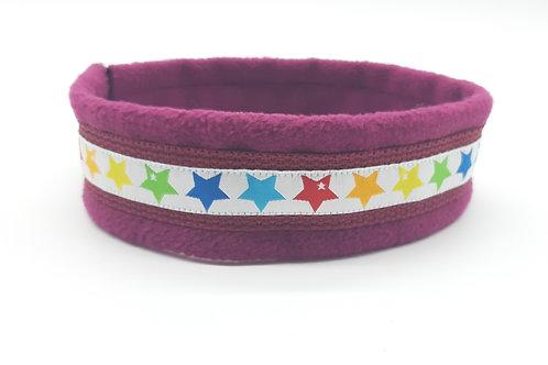 Hundehalsband bordeaux