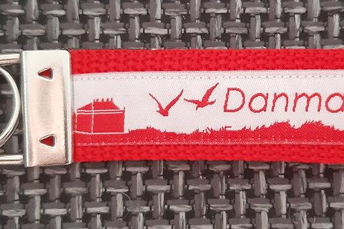 Skyline-Schlüsselanhänger Danmark