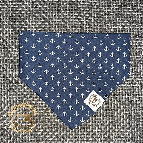 Halstuch blau mit Ankern