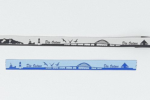 Skyline-Zugstopphalsband Die Ostsee