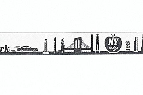 Skyline-Schlüsselanhänger New York