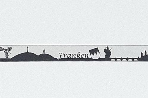 Skyline-Schlüsselanhänger Franken