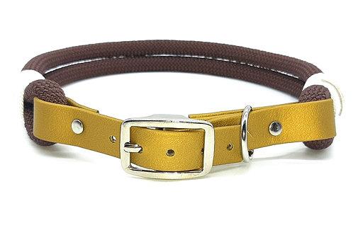 Biothane-PPM-Seil Halsband uni