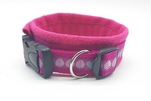 Hundehalsband pink