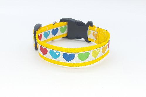 Hundehalsband gelb