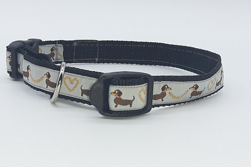 Hundehalsband schwarz