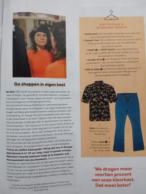 Flair - Schoner Shoppen  Tips van vijf eco-experts 5 Januari 2021