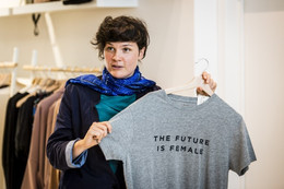 GVA Op zoek naar duurzame mode B.Right nodigt uit voor alternatieve stadswandeling
