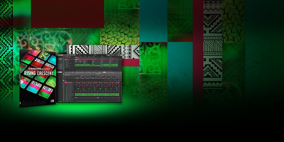 Native Instruments Maschine Expansion - Rising Crescent