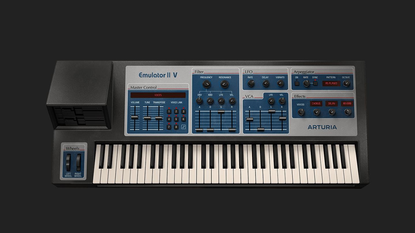 Arturia - Emulator II V