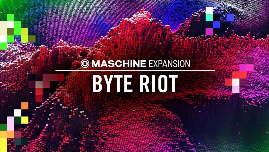 Native Instruments Maschine Expansion - Byte Riot