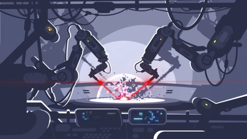ANIMINIS #1 - Robotic Arms Malfunction