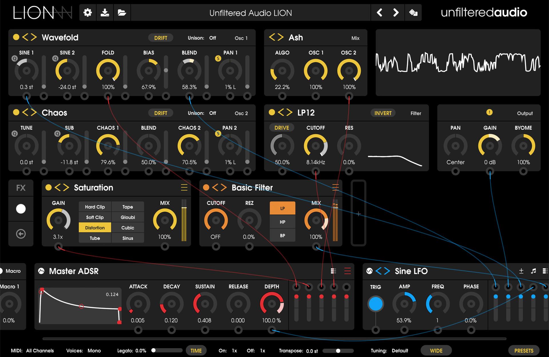 Unfiltered Audio - Lion
