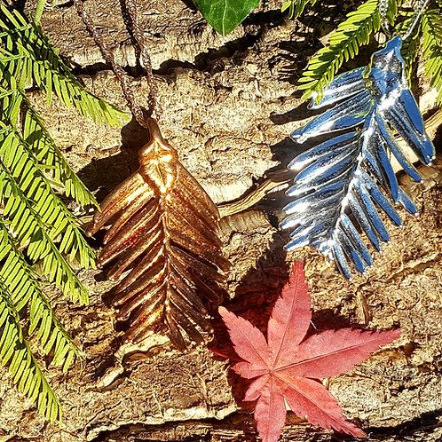 Feuille de Séquoia pendentif