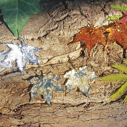Boucles feuilles d'Erable du Canada