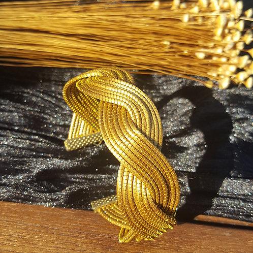 Bracelet 14 tiges entrelacées