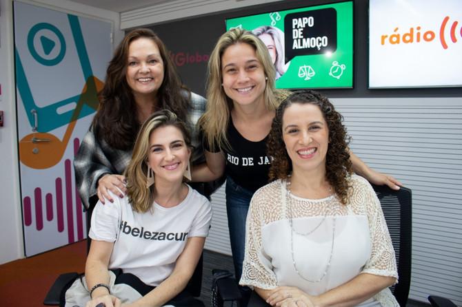 Papo de Almoço na Rádio Globo - Síndrome de Burnout