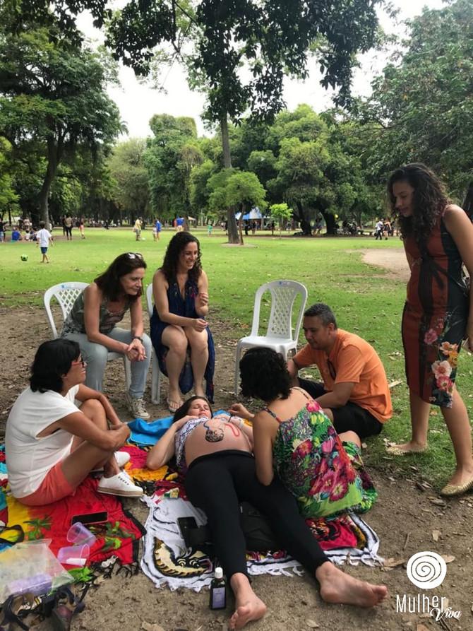 Sobre a Confraternização Mulher Viva, sobre mães e filha(o)s, sobre Gaia