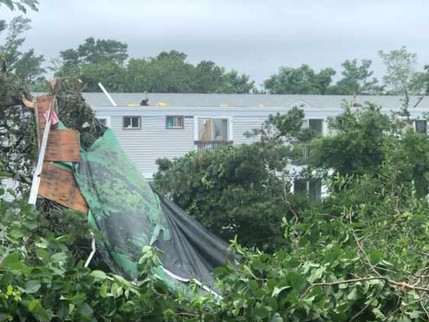 Rare Cape Cod Tornado Touches Down in South Yarmouth Causes Power Outage