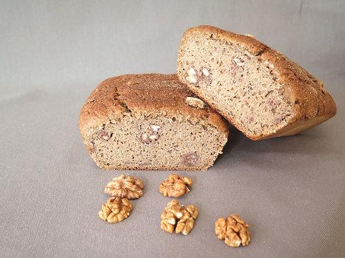 Ekşi Mayalı Cevizli Tam Buğday Ekmeği