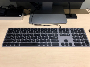 Review: Satechi Aluminum USB Keyboard for Apple