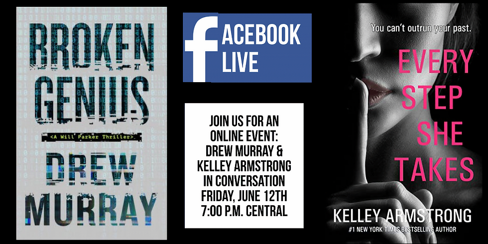 Facebook Live with Kelley Armstrong and Drew Murray