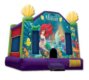 The Little Mermaid Bounce House