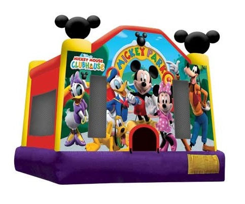Mickey Jump Bounce House