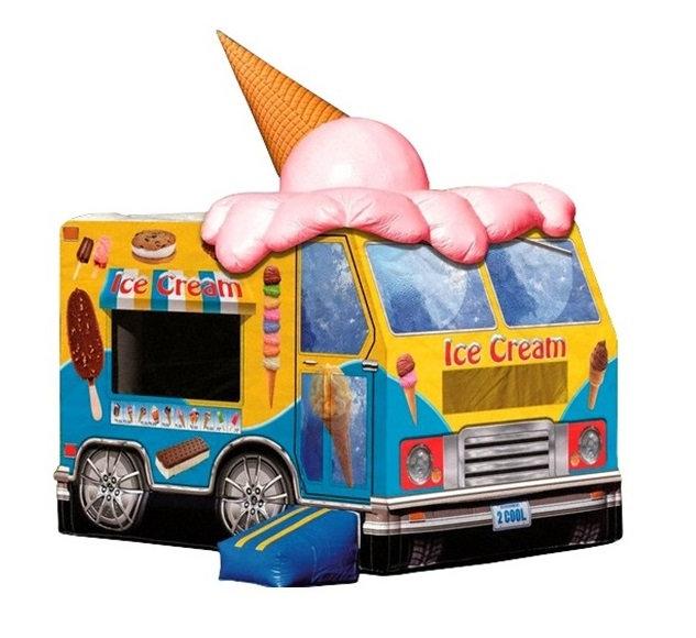 Ice Cream Truck Bounce House