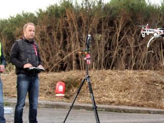 Biarritz : ils apprennent à piloter des drones