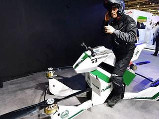 La police de Dubaï prend de la hauteur avec sa moto volante