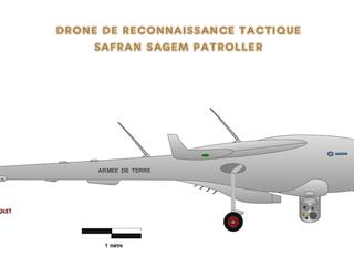 Bourget 2019 : Premier vol de qualification du drone SDT
