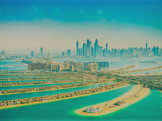 Drone video of the week ! DUBAI by DRONE - FULL LENGTH - 4K + Ambient Relaxation Music