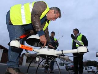 Dax : un drone a pris la température de la ville