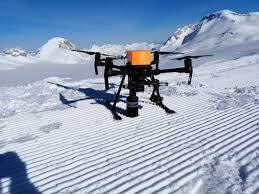 Le drone de Nivitec repère les victimes d'avalanche