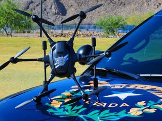 NHP est la première patrouille agrééepour utiliser des drones dans les forces de l'ordre au Nev