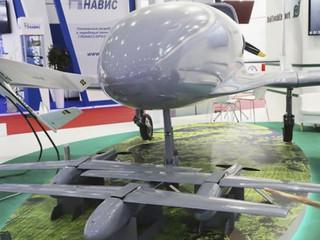 Belarus showcases Yastreb UAV