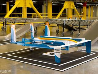 Dans la guerre des drone, Amazone se pose maintenant en véritable challenger.