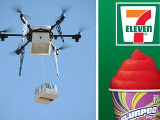 7-Eleven livre 77 clients par drone aux U.S.A