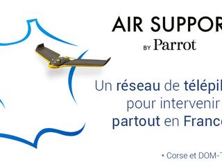 Parrot : un service d'inspection par drone avec Bureau Veritas