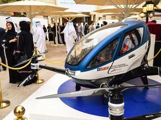 Dubaï fait voler le drone EHang qui transporte des humains !