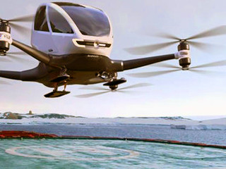 The Ehang 184 personal autonomous passenger drone is hoping to change transport
