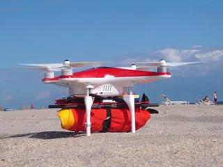 Un drone secouriste pour sauver les nageurs de la noyade