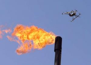 Un drone pour surveiller l'air des raffineries