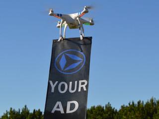 Quoi de mieux qu'un drone pour attirer l'attention ?