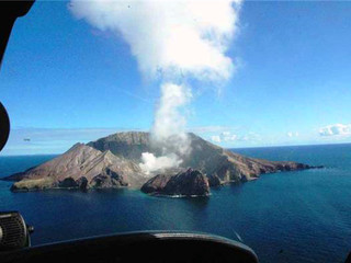 Drone to monitor White Island