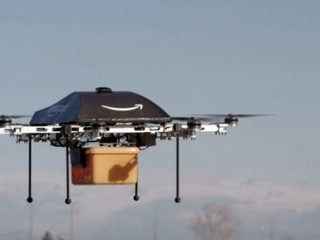 Premières images d'une livraison par drone de La Poste
